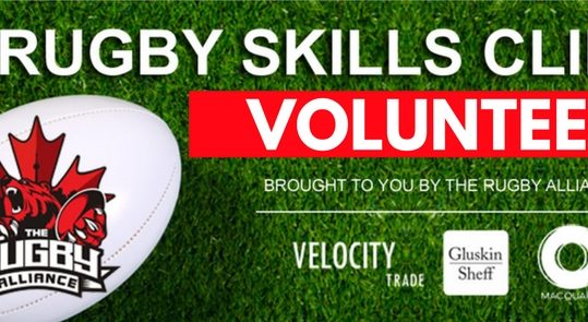 VOLUNTEER - Rugby Alliance - Facebook Event Cover