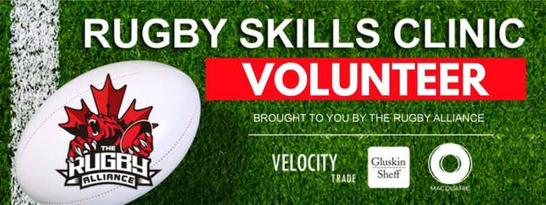 VOLUNTEER - Rugby Alliance - Facebook Event Cover
