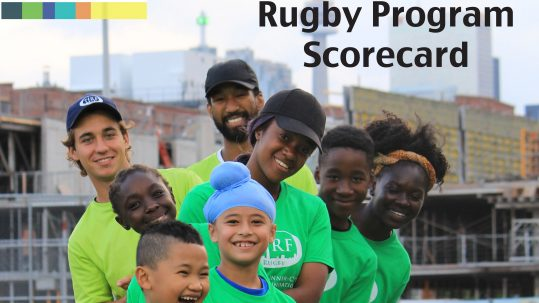 TIRF's 2017 Community Rugby Program Scorecard