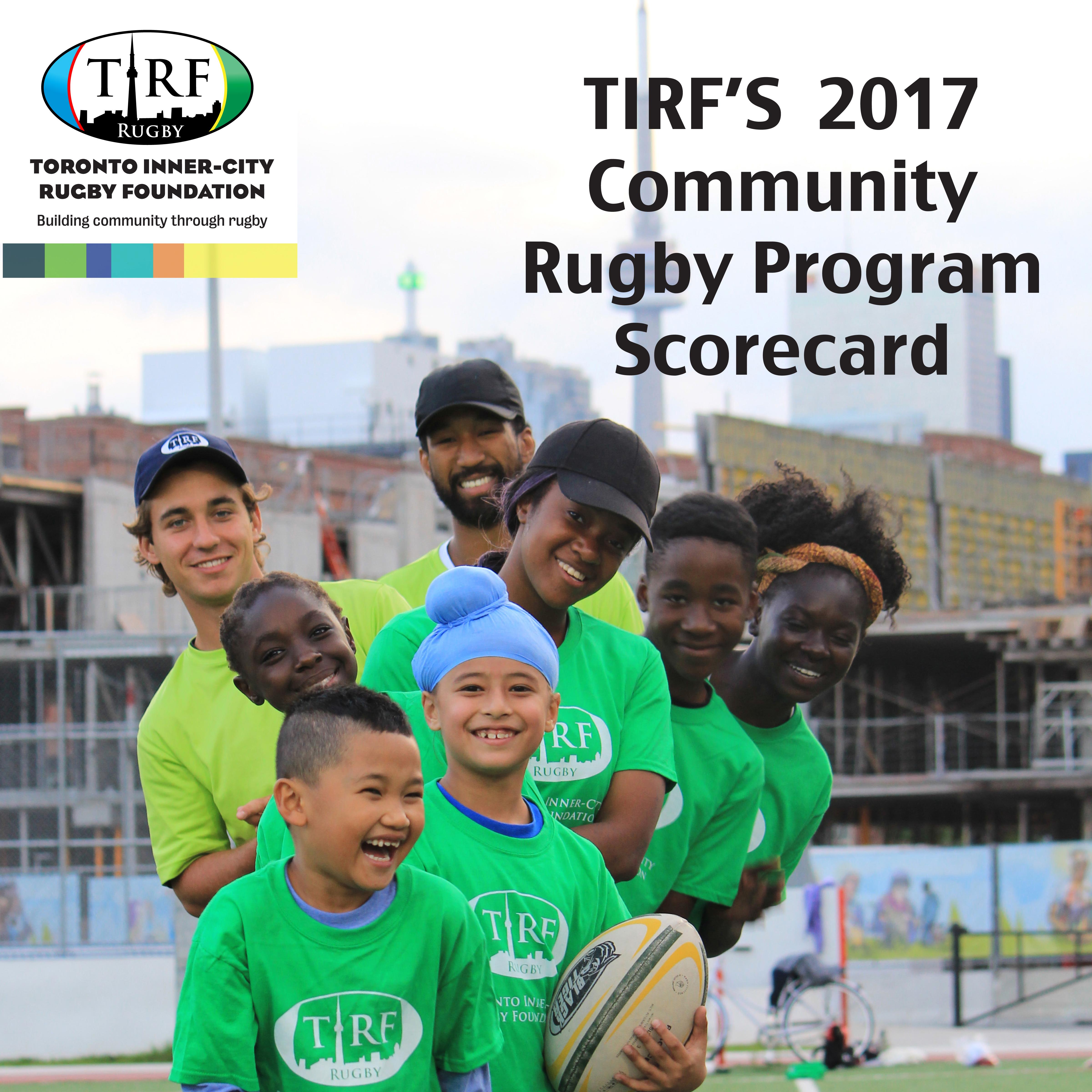 TIRF's 2017 Community Rugby Program Scorecard